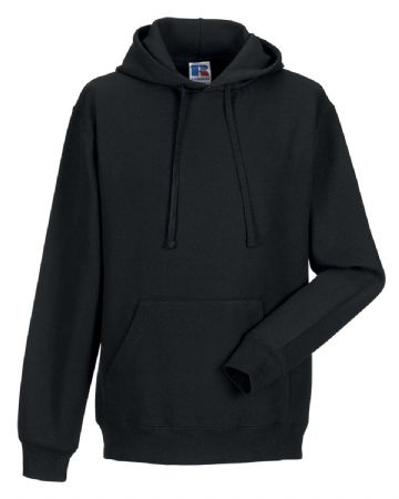 WICK HIGH SCHOOL BLACK PULL OVER HOODIE WITH EMBROIDERED LOGO